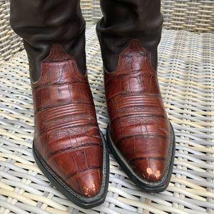 Ariat Cowboy Scrunch Boots 7 Western
